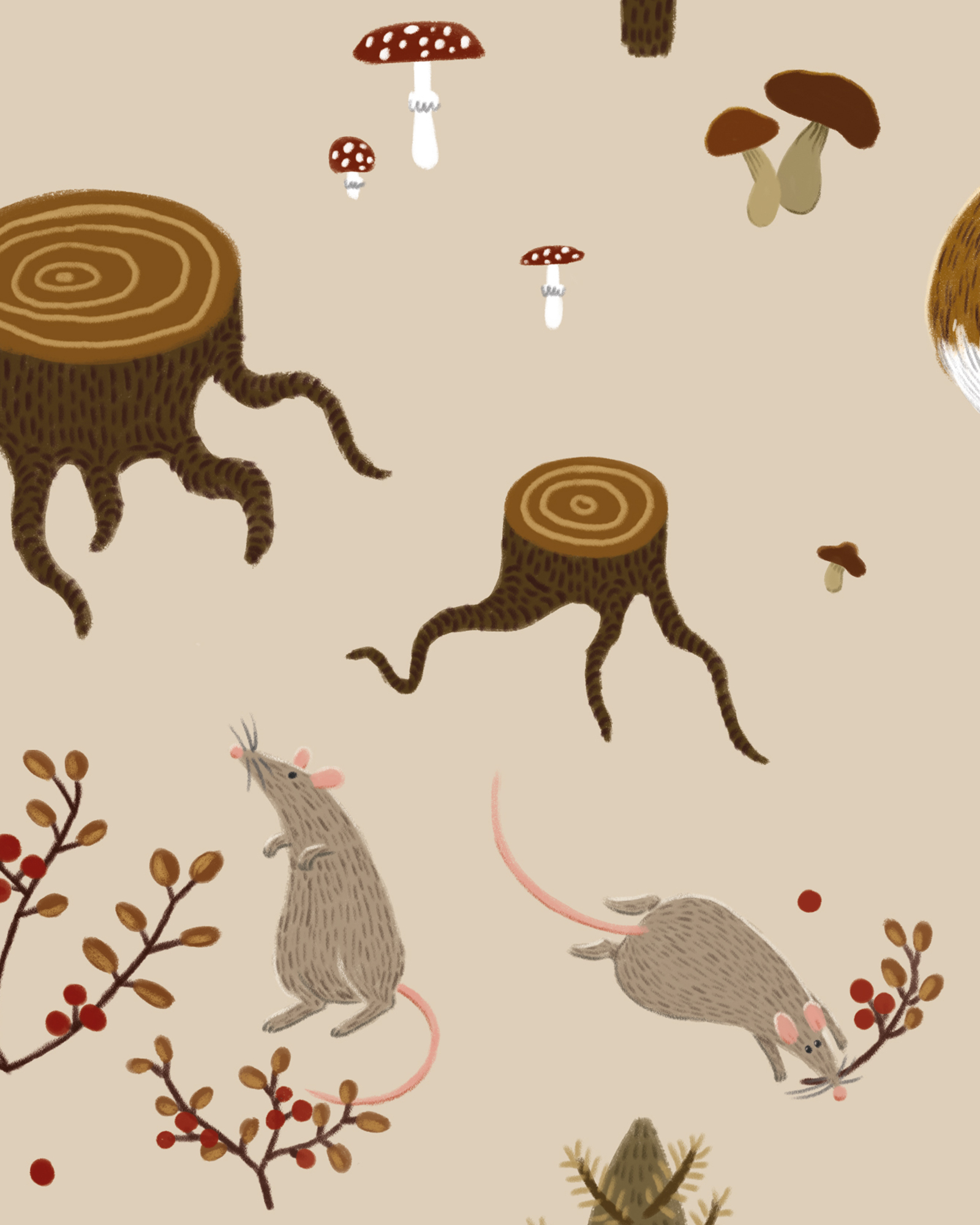 Fall_forest_pattern-mice