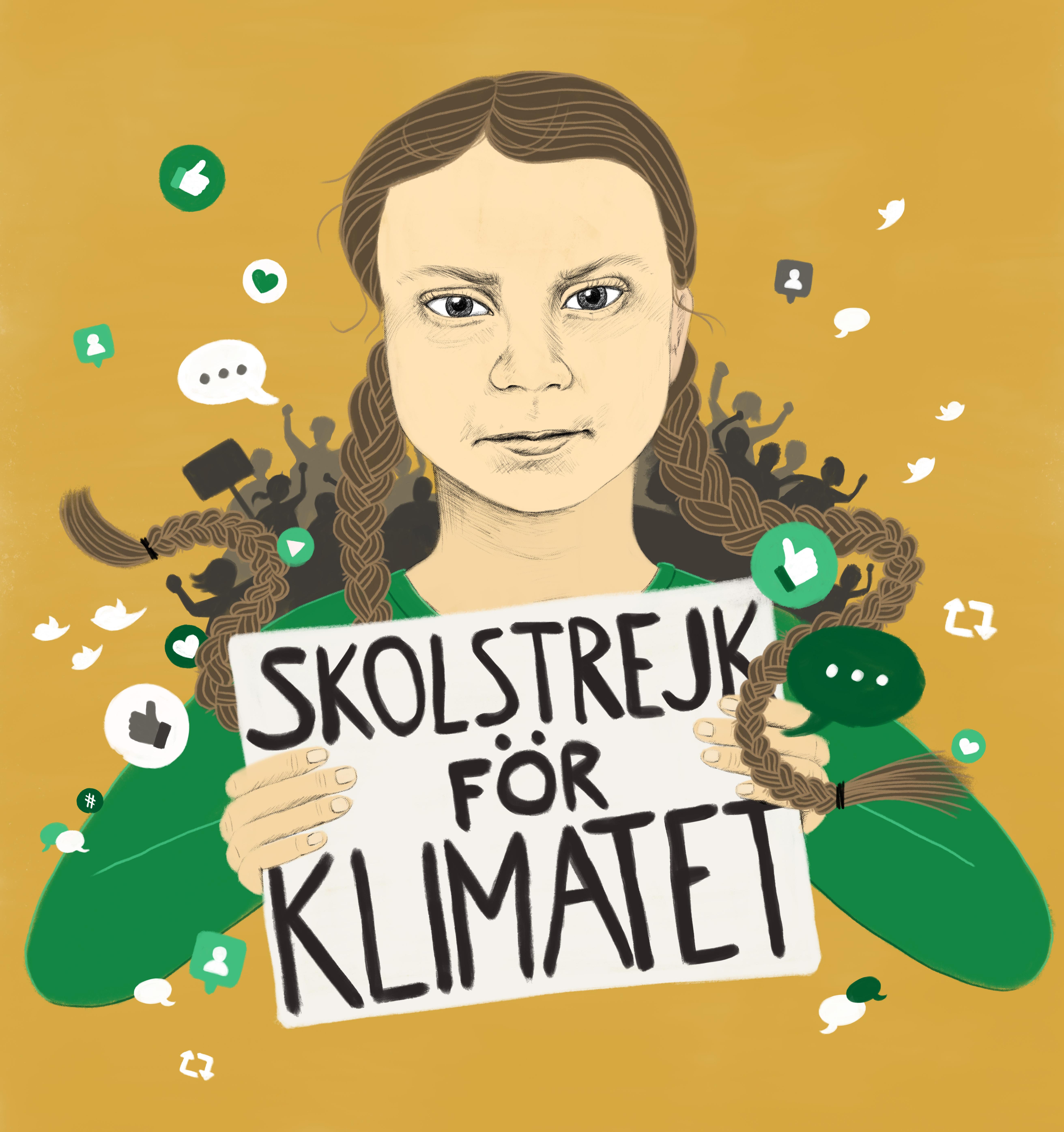 Greta_Thunberg-illustration-Mia_Olofsson